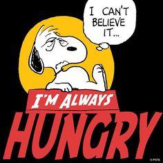 I'm with ya Snoopy!