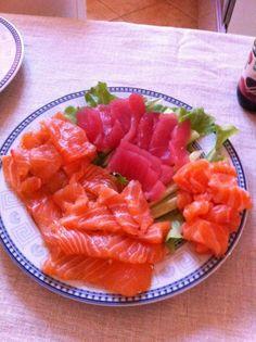 #Homemade #sashimi