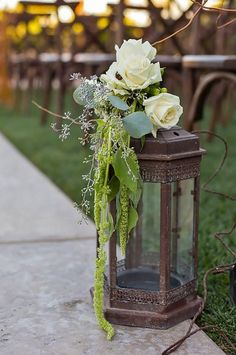 18 Beautiful Wedding Aisle Decoration Ideas ❤ It's so important to put attention on aisle decoration, place where you will say the most important words. Consider ours wedding aisle decoration ideas! Wedding Ceremony Ideas, Wedding Aisle Decorations, Wedding Table, Wedding Reception, Wedding Church, Budget Wedding, Wedding Themes, Lantern Centerpiece Wedding, Wedding Lanterns