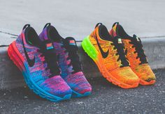 Awesome Colors! Nike Flyknit Air Max
