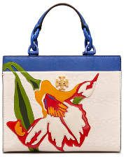 Tory Burch Kira Small Floral Tote