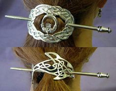 Celtic hair jewelry