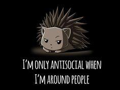TeeTurtle Tees - Antisocial