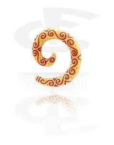 Spirale (Acrylique) | Crazy Factory magasin de piercings en ligne