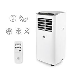JHS 8000 BTU Portable Air Conditioner Portable AC Unit Remote Control Small Air Cooler Dehumidifier with Timer Sleep Mode and 2 Fan Speed Small Air Cooler, Ac Units, Dehumidifiers, Home Comforts, Awesome Bedrooms, Remote, Cool Things To Buy, The Unit, Led