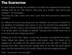 Creepypasta writing | Image - The Scarecrow.jpg - Creepypasta Wiki