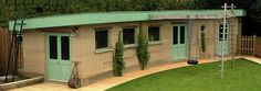 Rammed Earth Eco-Shed