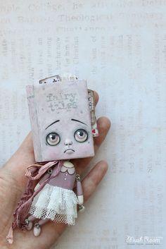 """Коллекционные куклы ручной работы. Ярмарка Мастеров - ручная работа """"Fairy Tales Book"""". Handmade."""