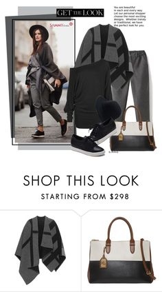 """""""Get the Look: Winter Street Style"""" by beebeely-look ❤ liked on Polyvore featuring Burberry, Lauren Ralph Lauren, women's clothing, women's fashion, women, female, woman, misses and juniors"""