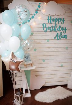 Diy party decorations, baby shower decorations, little man birthday, baby b Baby Boy Birthday Decoration, First Birthday Decorations, Baby Boy 1st Birthday, Birthday Backdrop, Baby Shower Decorations For Boys, Birthday Party Decorations, Birthday Parties, Themed Parties, Baby Boy Themes