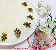 تزیین شیر برنج