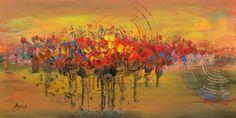abstract art painting original acrylic by artstudioAreti on Etsy