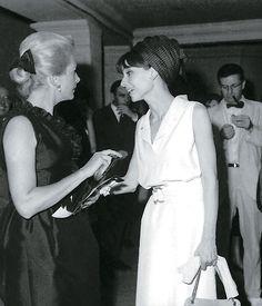 Audrey Hepburn and Deborah Kerr