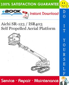 This is the COMPLETE Service Repair Manual for the Aichi / Self Propelled Aerial Platform. It contains deep information about maintaining, Photo Illustration, Illustrations, Electric Circuit, Aichi, Windows Operating Systems, Repair Manuals, Specs, Saving Money, Platform