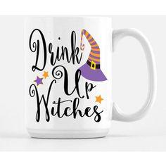Fall Coffee Mug Drink Up Witches Fall Mug Mugs With Sayings Funny Mugs Cute Coffee Mugs Cute M