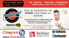 Vota por nuestro grupo en @MusicAula y ayúdanos a pasar a la #finalmusicaula7edicion en #Getafe #Madrid #MusicAulaFestival2016 Madrid, Dj, Baseball Cards, Concert, Entertainment, Group, Places