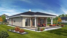 Casă de vis fără etaj, ideală unei familii cu patru membri, in suprafată de 100 m²