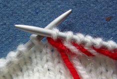 Tõstetud kirju nöör Knitting Stitches, Hand Knitting, Knitting Patterns, Knitting Tutorials, How To Start Knitting, Knit Mittens, Lana, Crafty, Fashion