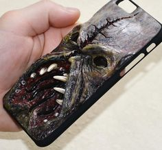 Mutation - iPhone case - Teeth - Fangs - Horror decor - iPhone 6 case - Parasite - Vampire - Bloodsucker - iPhone 6s case - Creature - Ghoul by FamilySkinersStyle to Etsy