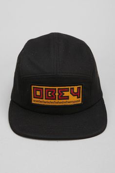 OBEY Republic 5-Panel Hat  #urbanoutfitters