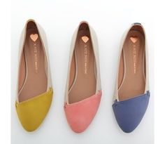 Kate Miss Asymmetrical Ballet Flats....TOO Damn Cute $24