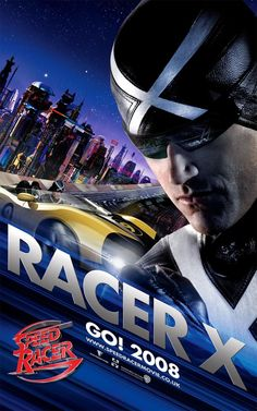 Speed Racer , starring Emile Hirsch, Matthew Fox, Christina Ricci, Nicholas Elia. A young driver, Speed Racer, aspires to be champion of the racing world with the help of his family and his high-tech Mach 5 automobile. #Action #Family #Sport