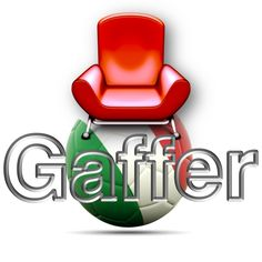 Armchair Gaffer new logo, discover the site and its shiny layout.