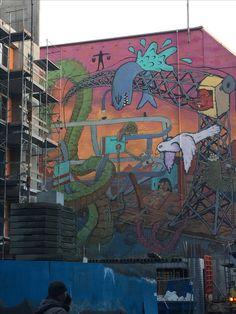 Street art, Reykjavik Iceland, Street Art, October, Ice Land