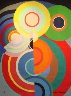 View Automne by Sonia Delaunay on artnet. Browse more artworks Sonia Delaunay from Galerie Hadjer. Sonia Delaunay, Robert Delaunay, Johannes Itten, Arte Pop, Art Abstrait, French Artists, Art Plastique, Geometric Shapes, Art Lessons