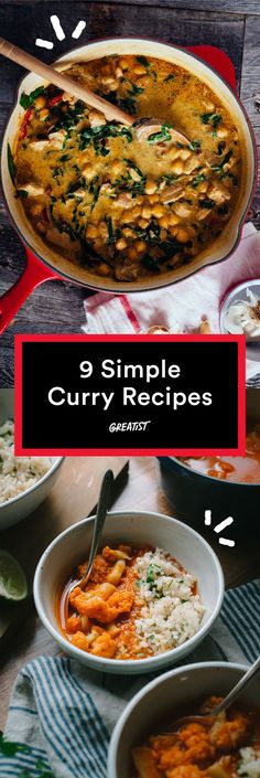 Curry up—your kitchen is calling. #healthy #curry #recipes http://greatist.com/eat/curry-recipes-that-are-way-easier-than-you-think