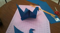 Giant Origami Birds for Decoration by TheOrigamiMommy on Etsy, $25.00