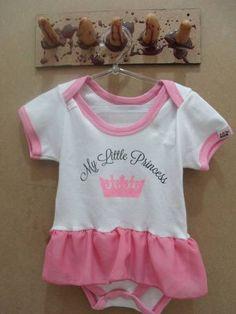 Body My Litle Princess  Tamanho M R$ 60,00
