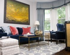 Living Room Draperies And Window Treatments Design, Pictures, Remodel, Decor and Ideas - page 2