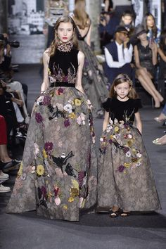 Please Don't Put Your Child In These Couture Mommy-And-Me Gowns