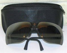 Gargoyles Sunglasses (Men's Pre-owned Gray Metal Designer Sun Glasses)