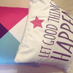 Buenos días!! A por el martes!! #letgoodthingshappen #cojines #cojinesdecorativos #pillows #textilhogar #positive #goodvibes