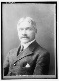 Photo shows Winthrop More Daniels (1867-1944), appointed by President Wilson to the Interstate Commerce Commission in 1914.