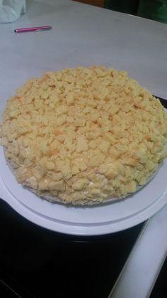 """Torta """"mimosa"""" 8 marzo 2014"""