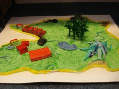 An Island Home model Display, classroom Display, geography,  similarities and differences, Island, Early Years (EYFS), KS1&KS2 Primary Teaching Resources