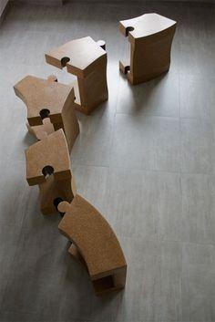D'arc.Studio | Chaise Cork | Wood - Furniture.biz