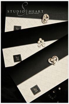 Katorri Robert S Vintage Chanel Clutch Inspired Custom Invitation Design