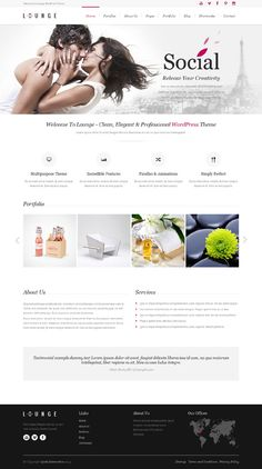 Lounge, WordPress Clean Elegant WP Theme