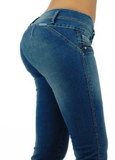 U-Turn Style 375 Brazilian and Colombian butt lifter (Levanta Cola) skinny leg fashion stretch denim for only $44.99