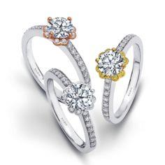 Engagement Ring : WS275D #WeddingRings #EngagementRings #DiamondRings