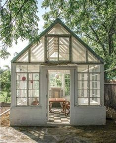 Backyard Greenhouse, Greenhouse Plans, Window Greenhouse, Dream Garden, Home And Garden, Land Scape, Garden Inspiration, Future House, Outdoor Gardens