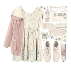 """fleur rose"" by child-of-the-tropics ❤ liked on Polyvore featuring ASOS, Charlotte Russe, TokyoMilk, Monsoon, OKA, Baobab Collection, Alexis Bittar and Forever 21"