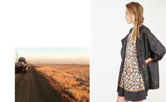 comptoir des cotonniers  Printed Dress #2dayslook #PrintedDress #susan257892  #sunayildirim  www.2dayslook.com