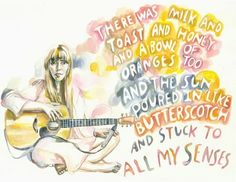 Joni Mitchell's Milk & Honey