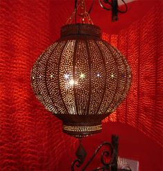 hammered lanterns...create the most mystical shadows along your walls