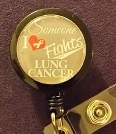 Hey, I found this really awesome Etsy listing at https://www.etsy.com/listing/182021060/lung-cancer-awareness-retractable-name
